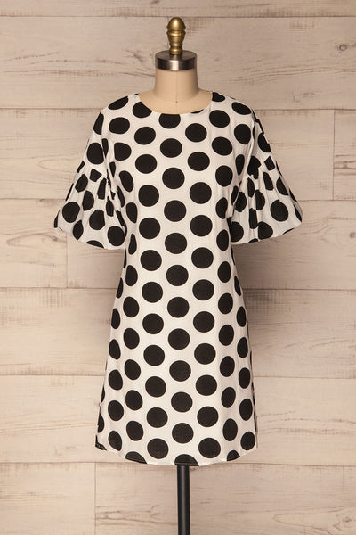 Maseviche Black & White Polkadot Tunic Dress | La Petite Garçonne