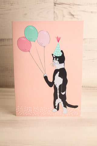 Maxi Carte Party Cat Mini Card | La Petite Garçonne Chpt. 2
