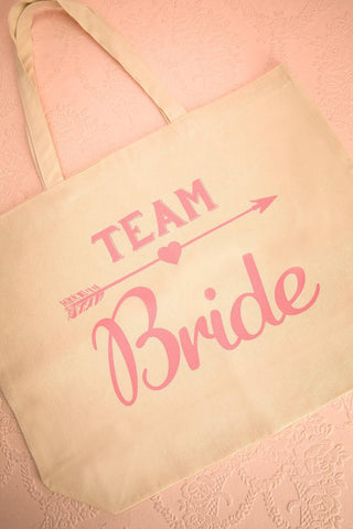 "Maxixe - ""Team Bride"" print tote bag"