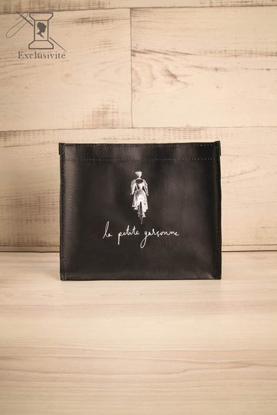 Mini Sac LPG - Black and white reusable bag