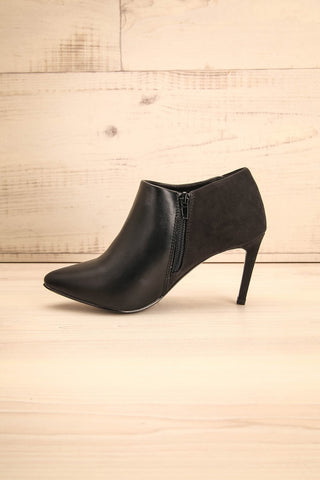 Molfetta - Black high heels ankle boots