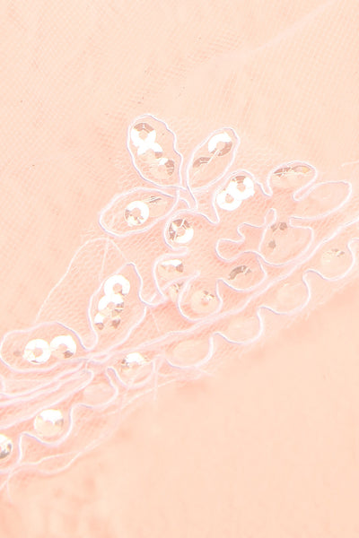 Mollis Blanc White Embroidered Wedding Veil | Boudoir 1861