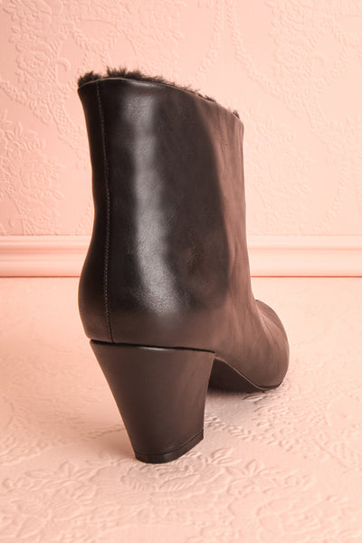 Montesquieu Black Faux Fur Lined Ankle Boots | Boutique 1861 9
