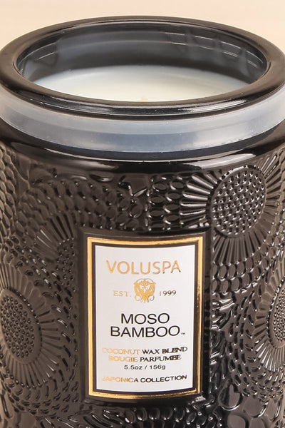 Medium Jar Candle Moso Bamboo | La petite garçonne open close-up