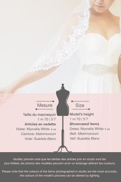 Myrcella White Bustier Maxi Dress | Boudoir 1861 fiche