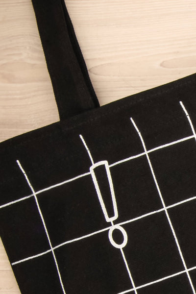 Nagoya - Black and white tote bag