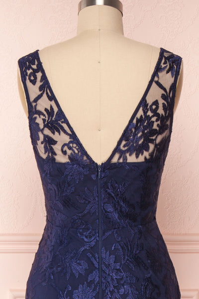 Naoyo Navy | Blue Lace Gown