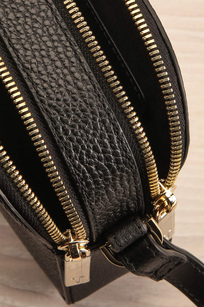 Niran Black Crossbody Bag | Sac | La Petite Garçonne Chpt. 2 inside close-up