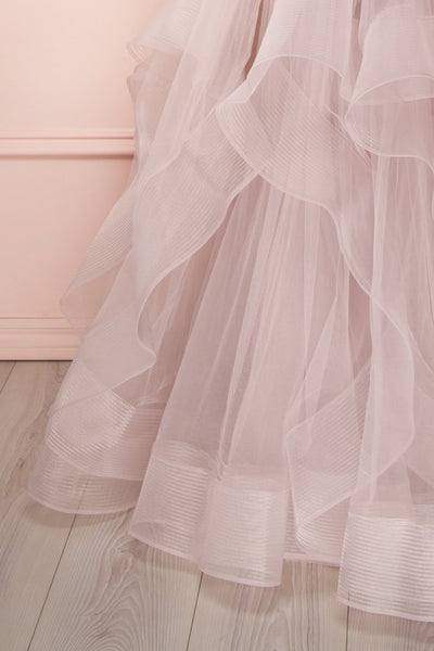 Ochobo | Lilac Tulle Gown
