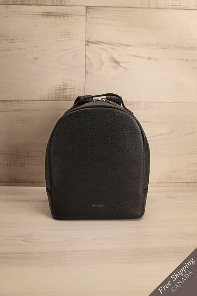 Olly Black Vegan Leather Backpack | La Petite Garçonne Chpt. 2 1