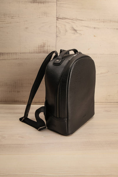 Olly Black Vegan Leather Backpack | La Petite Garçonne Chpt. 2 4