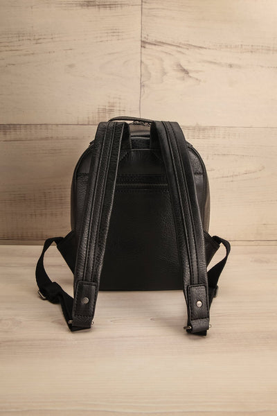 Olly Black Vegan Leather Backpack | La Petite Garçonne Chpt. 2 6
