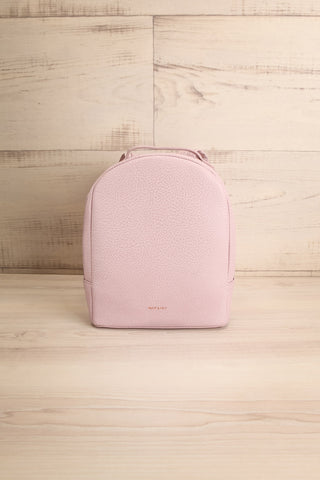 Olly Lilac Vegan Leather Backpack | La Petite Garçonne Chpt. 2 1