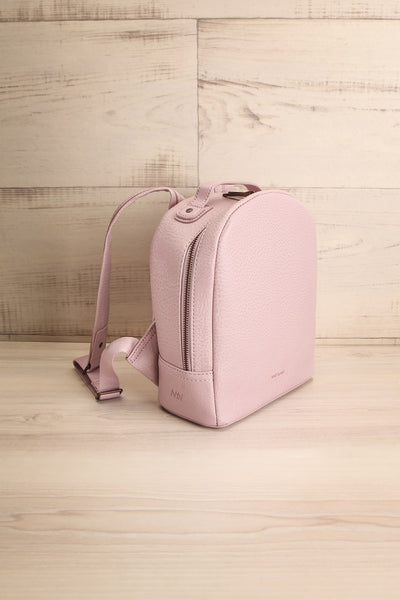 Olly Lilac Vegan Leather Backpack | La Petite Garçonne Chpt. 2 4