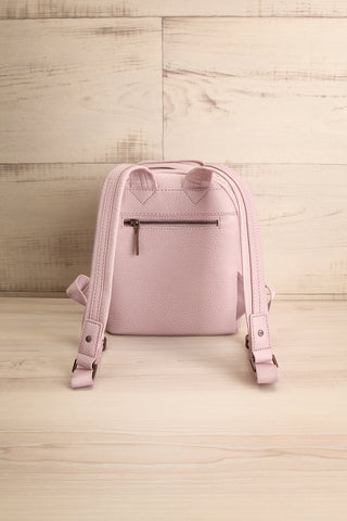 Olly Lilac Vegan Leather Backpack | La Petite Garçonne Chpt. 2 6