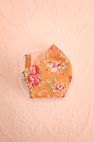 Orange Bouquet Face Mask | Boutique 1861 inside
