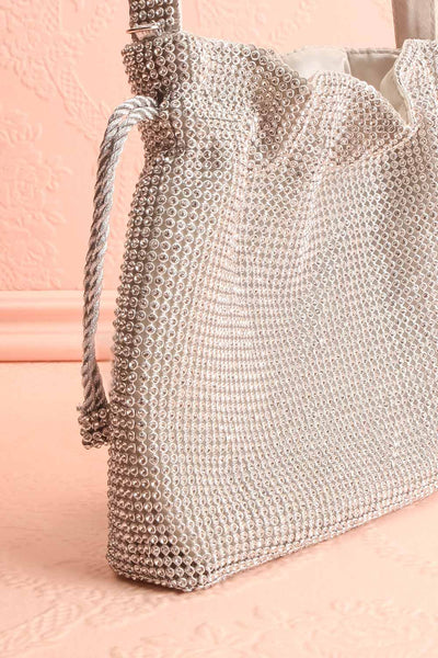 Poncirier Shiny Crystal Purse | Sac à Main | Boudoir 1861 side close-up