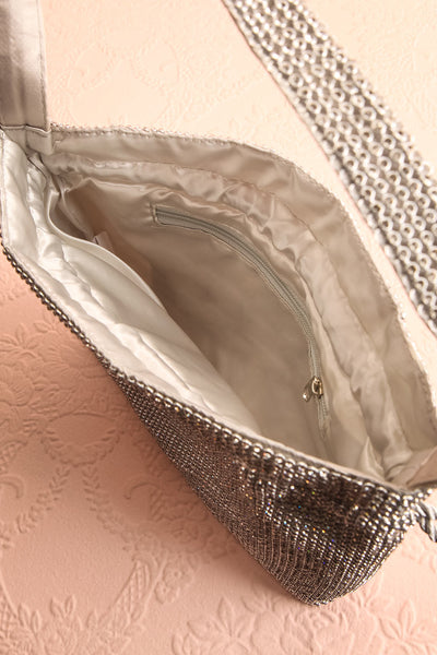 Poncirier Shiny Crystal Purse | Sac à Main | Boudoir 1861 inside view