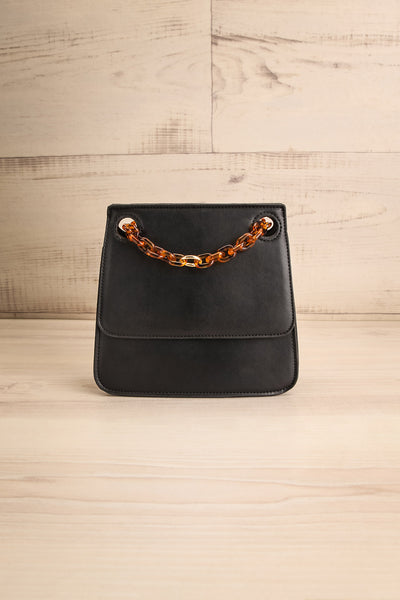 Poole Black Rectangular Crossbody Bag | Boutique 1861