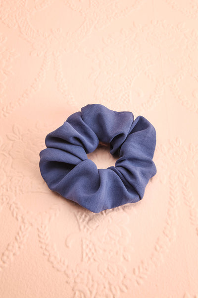 Quam Blue Hair Scrunchie | Boutique 1861 view