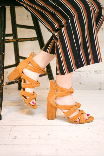 Cantazarro Light Brown Heeled Sandals | La Petite Garçonne Chpt. 2
