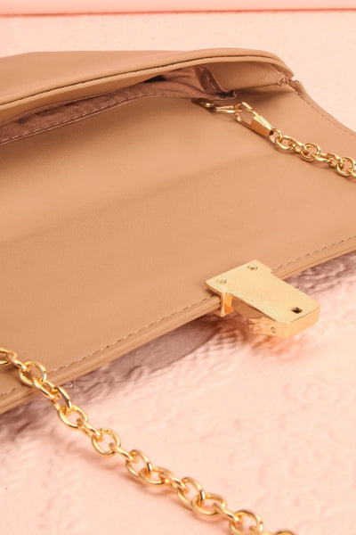 Ragga Sable Beige Purse with Bamboo Handle | Boutique 1861 8