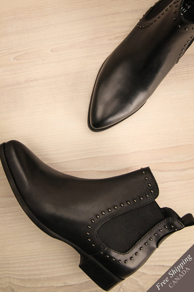 Recco | Black Ankle Boots