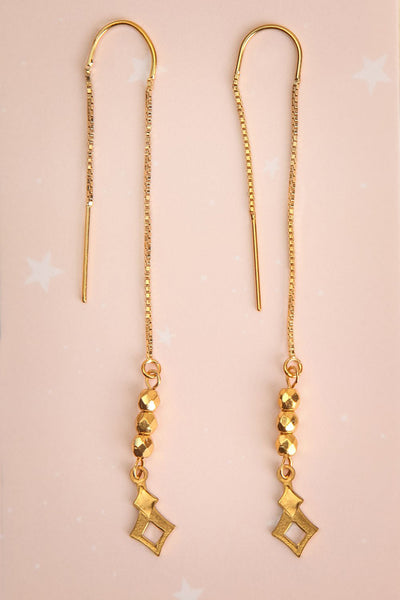 Doris Day Gold | Pendant Earrings