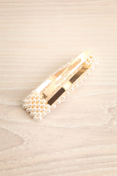 Renonculle | Gold and Pearl Barette