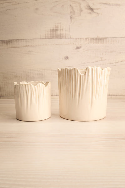Reverence Beige Pot | Céramique | La Petite Garçonne Chpt. 2 different sizes