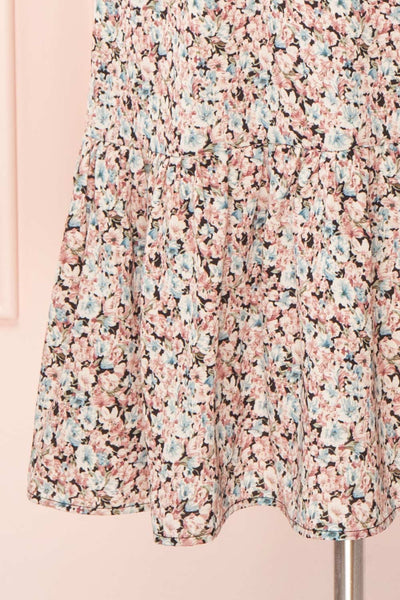 Rosalind Floral Long Sleeve Midi Dress | Boutique 1861skirt