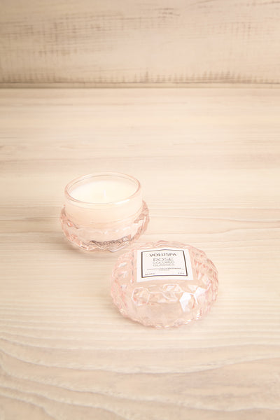 Macaron Candle Rose Colored Glasses | La petite garçonne open