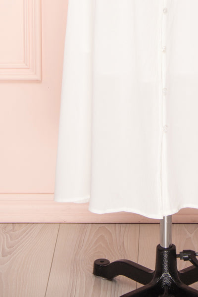 Sarai Cloud | Off-Shoulder Midi Dress