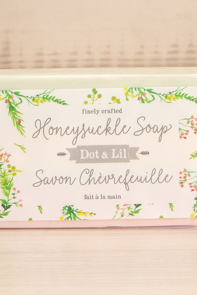 Savon Chevrefeuille Honeysuckle Soap | La petite garçonne logo close-up