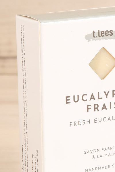 Savon Eucalyptus Frais Perfumed Soap side close up | La Petite Garçonne box close-up