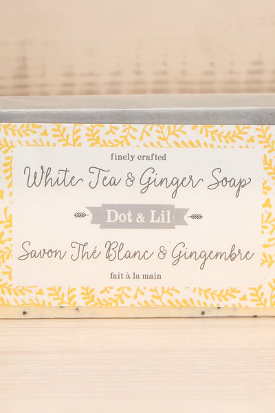 Savon The Blanc et Gingembre White Tea Ginger Soap | La petite garçonn… logo close-up