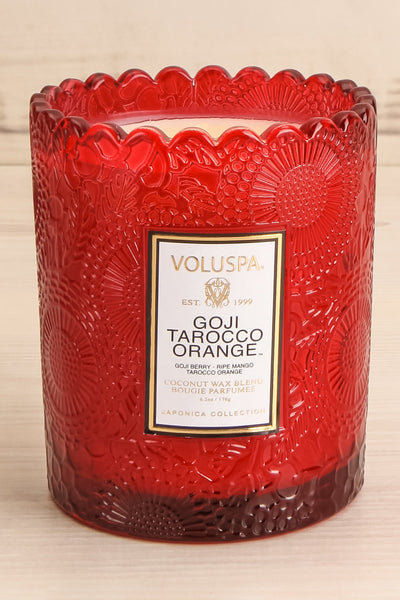 Scalloped Candle Goji Tarocco Orange | La Petite Garçonne Chpt. 2 2