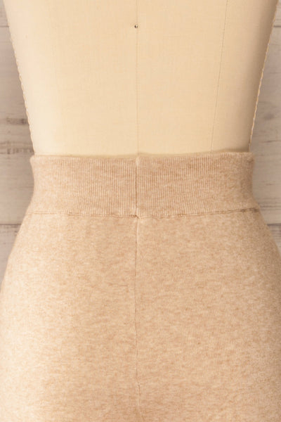 Kaunas Beige Cozy Lounge Set | La petite garçonne  back close-up