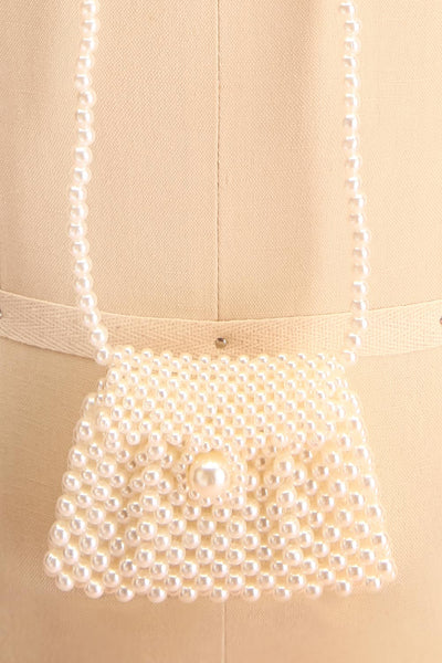 Shepetivka Pearl Purse Necklace | Collier | Boutique 1861 close-up