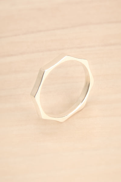 Solarino - Delicate sterling silver ring 2