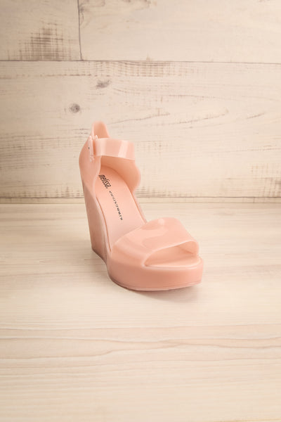 Spinoza Blush Wedge Heeled Sandals | La Petite Garçonne Chpt. 2 3