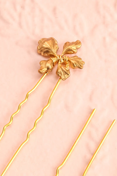 Steropa | Set of Gold Hair Pins