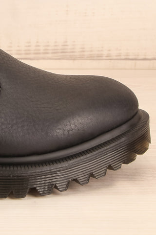 Stirling Black Dr. Martens Chelsea Boots side front close-up | La Petite Garçonne