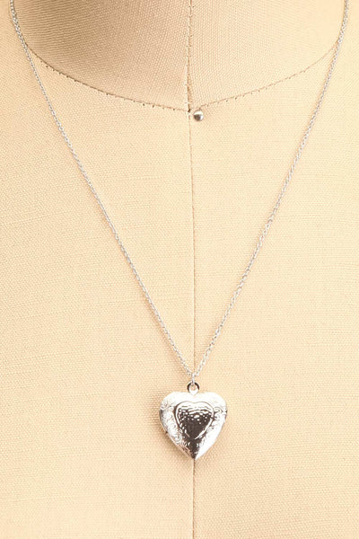 Suffero Argenté Silver Heart Locket Pendant Necklace | Boutique 1861 7