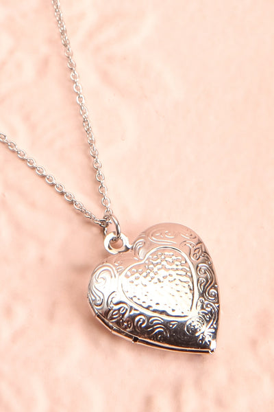 Suffero Argenté Silver Heart Locket Pendant Necklace | Boutique 1861 5