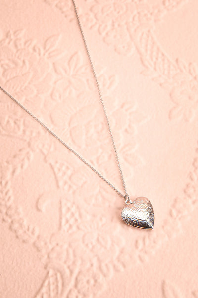 Suffero Argenté Silver Heart Locket Pendant Necklace | Boutique 1861 1