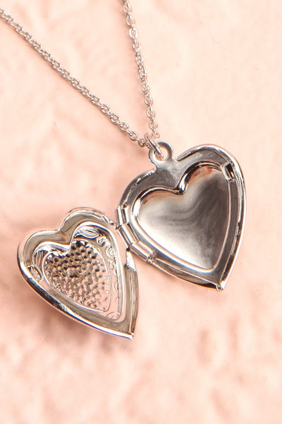Suffero Argenté Silver Heart Locket Pendant Necklace | Boutique 1861 3