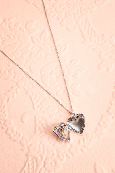 Suffero Argenté Silver Heart Locket Pendant Necklace | Boutique 1861 4