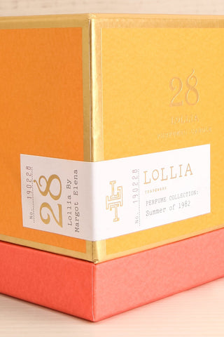 Summer of 1982 Candle | La Petite Garçonne Chpt. 2 packaging close-up