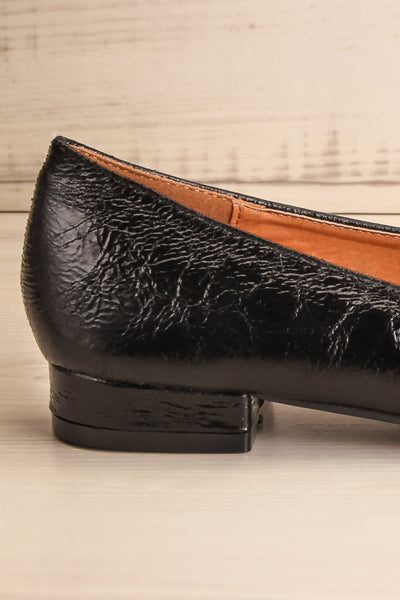 Tainate Black Patent Faux Leather Loafers | La Petite Garçonne 6